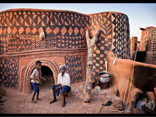 In the south of Burkina Faso,there is a village near the border with Ghana, is a small size, called Tiébélé. This is the h...