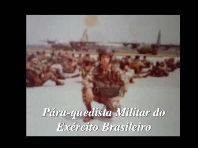 Pára-quedista Militar do Exército Brasileiro