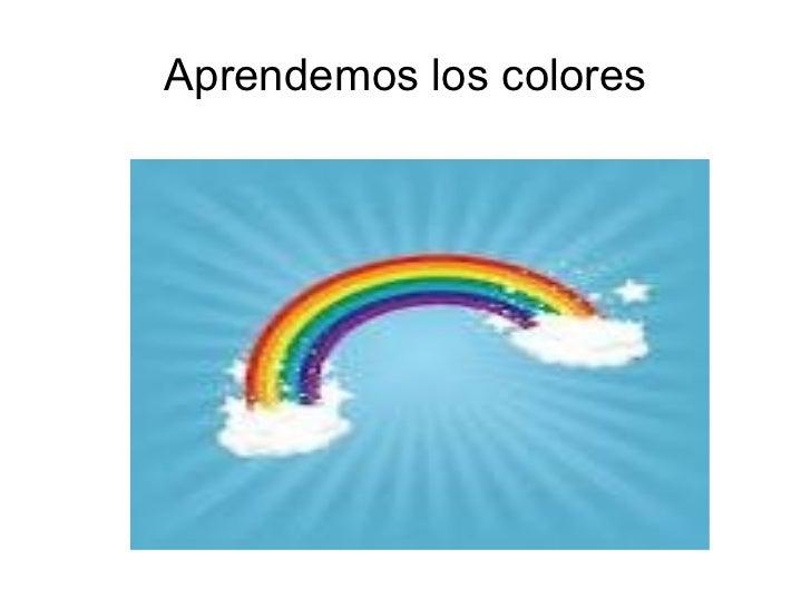 Aprendemos los colores