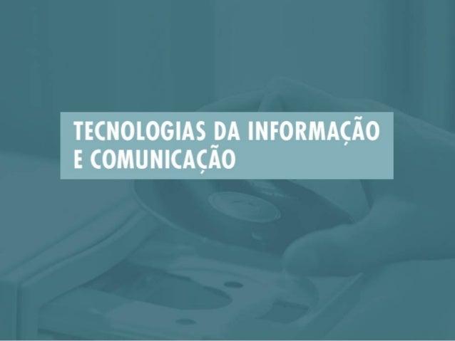 UNIDADE 1: INTRODUÇÃO ÀS TECNOLOGIAS            DA INFORMAÇÃO E COMUNICAÇÃO     Conceitos básicos sobre Tecnologias da Inf...