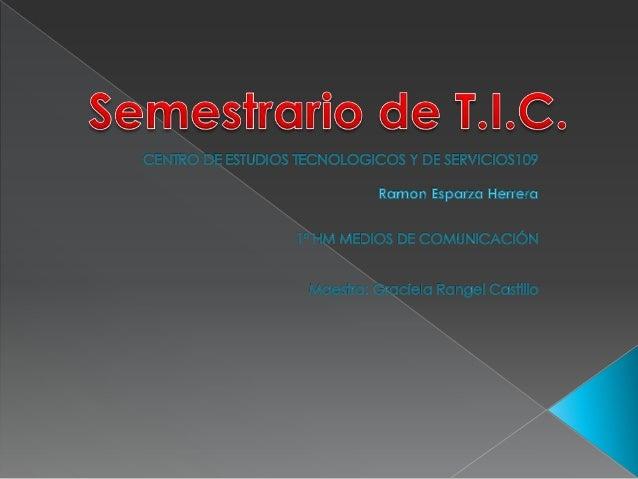Semestrario Esparza Herrera Ramón