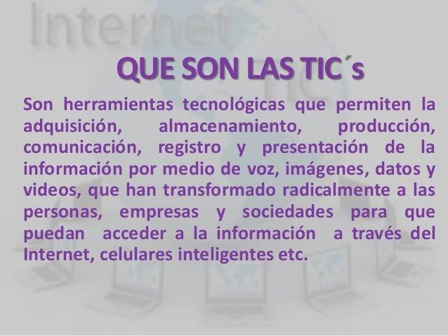 T I C TECNOLOGÍAS DE LA INFORMACIÓN Slide 2