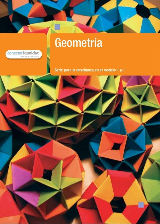 Serie para la enseñanza en el modelo 1 a 1Geometríamaterial de distribución gratuita