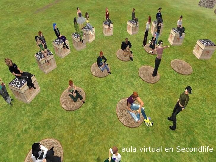 aula virtual en Secondlife