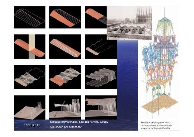10/11/201510/11/2015 2929 Escuelas provisionales, Sagrada Familia. Gaudí. Simulación por ordenador.