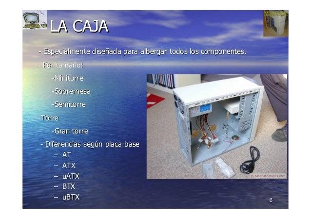 66 LA CAJALA CAJA -- Especialmente diseEspecialmente diseññada para albergar todos los componentes.ada para albergar todos...