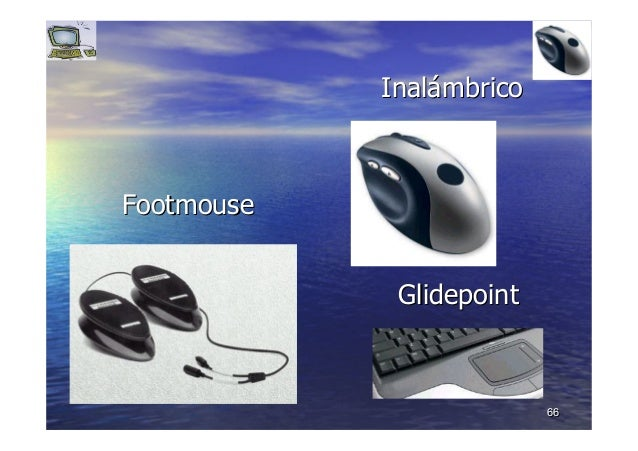 6666 FootmouseFootmouse GlidepointGlidepoint InalInaláámbricombrico