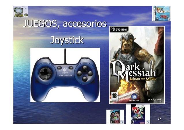 7777 JUEGOS, accesoriosJUEGOS, accesorios JoystickJoystick