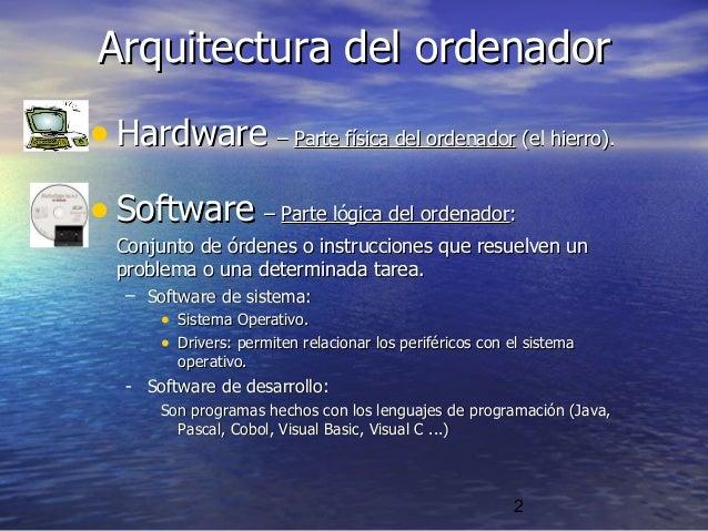 Tic 06 componentes del ordenador software for Fisica con ordenador