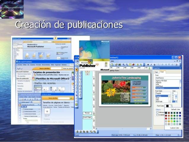 39 Creación de publicacionesCreación de publicaciones