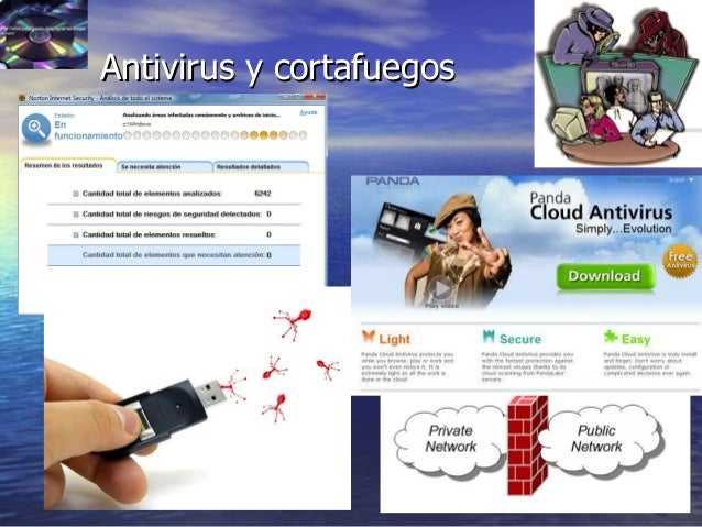 41 Antivirus y cortafuegosAntivirus y cortafuegos