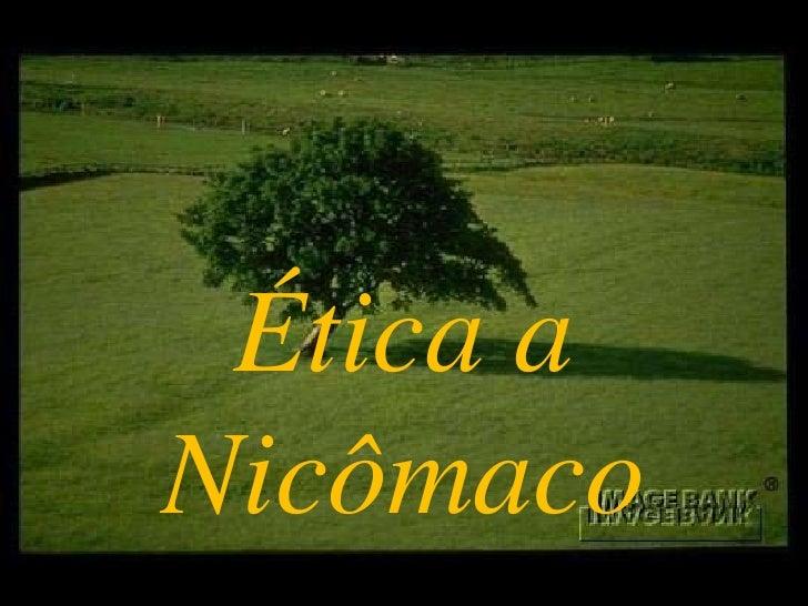 Ética aNicômaco