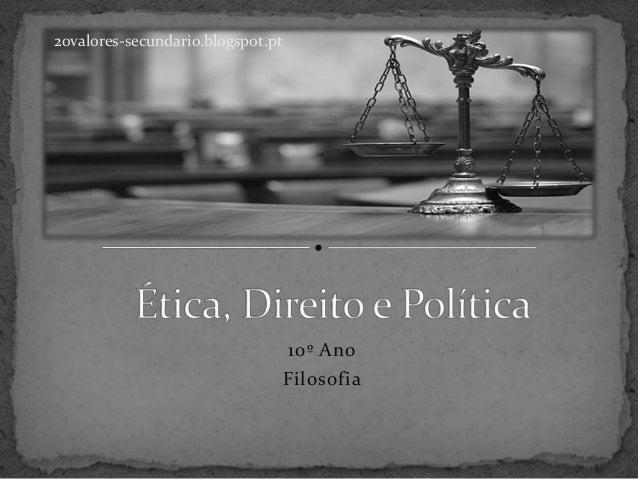 10º Ano Filosofia 20valores-secundario.blogspot.pt