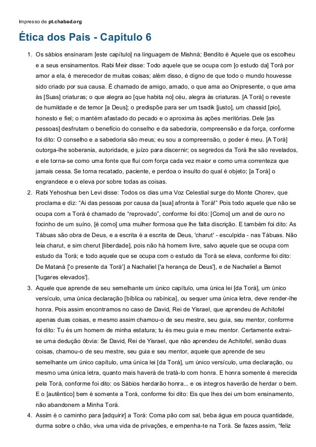 13/05/2015 ÉticadosPaisCapítulo6ToráeEstudo http://www.pt.chabad.org/library/article_cdo/aid/1090313/jewish/tic...