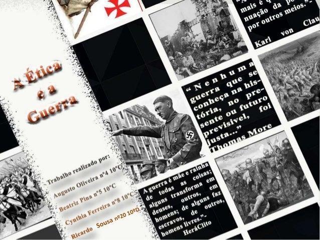Introdução Devido ao seu carácter violento e aos enormes efeitos na vida das pessoas e da sociedade, a guerra é uma fonte ...