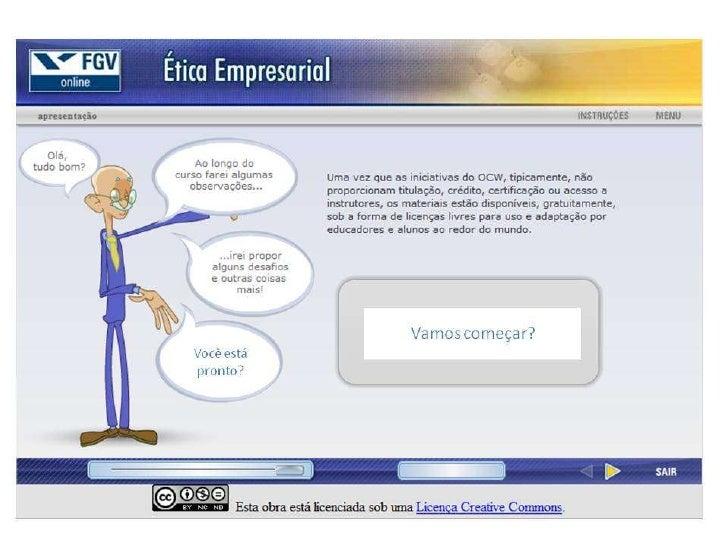 Ética empresarial - unidade 4