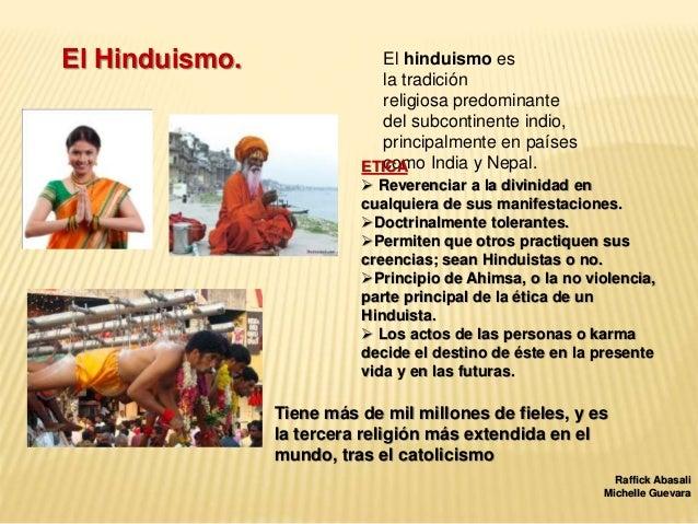 Ticas religiosas - Principios del hinduismo ...