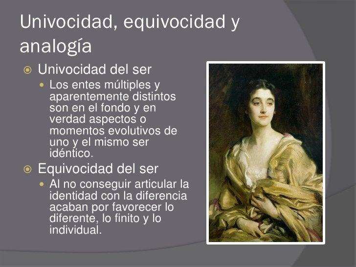 Analogía del ser  La analogía del ser   permite articular   positivamente, sin   contraposiciones   excluyente, la identi...