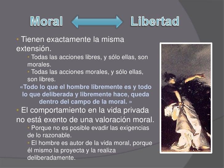 • Tienen exactamente la misma extensión.     • Todas las acciones libres, y sólo ellas, son     morales.     • Todas las a...