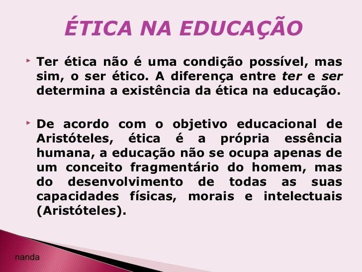 Resultado de imagem para educação com etica