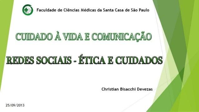 Redes Sociais - Ética e Cuidados