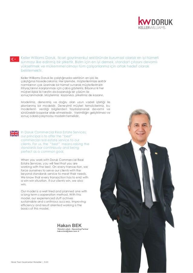 Keller Williams Doruk, ticari gayrimenkul hizmetleri Slide 3