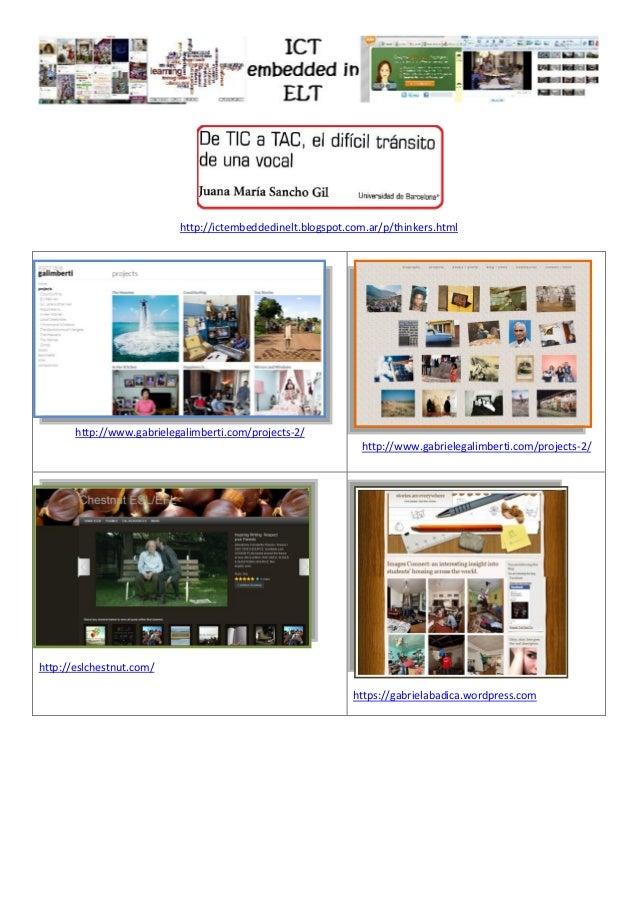 http://ictembeddedinelt.blogspot.com.ar/p/thinkers.html http://www.gabrielegalimberti.com/projects-2/ http://www.gabrieleg...
