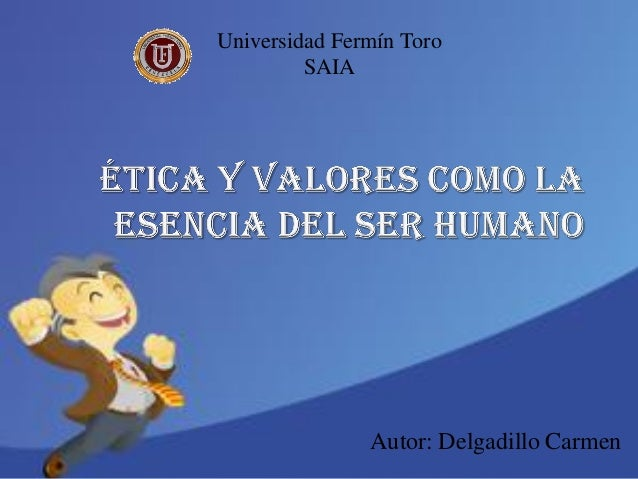 Autor: Delgadillo Carmen Universidad Fermín Toro SAIA