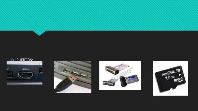 """ PUERTOS: """"HDMI"""" """"USB"""" """"SD"""" """"Micro"""""""