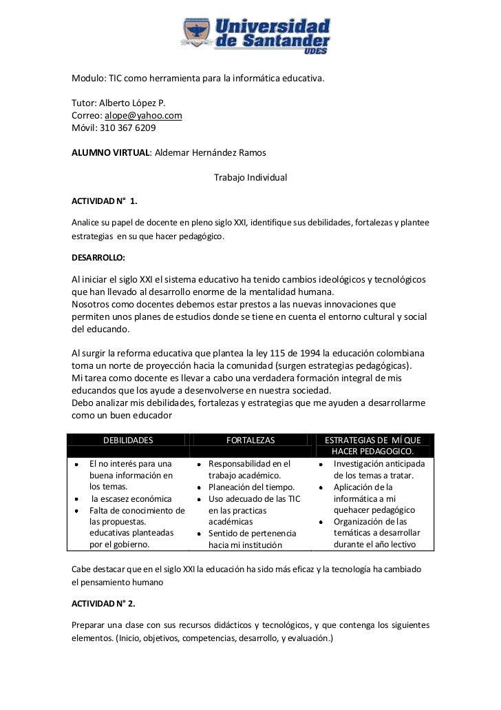 1644015-633095<br />Modulo: TIC como herramienta para la informática educativa.<br />Tutor: Alberto López P.<br />Correo: ...