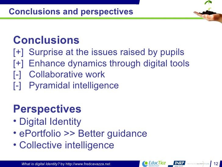 Conclusions and perspectives <ul><li>Conclusions </li></ul><ul><li>[+]  Surprise at the issues raised by pupils </li></ul>...