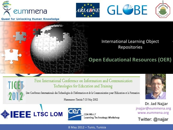 International Learning Object                                           Repositories                         Open Educatio...