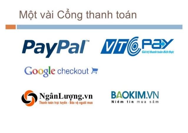 Tích hợp cổng thanh toán cho website Thương mại Điện tử