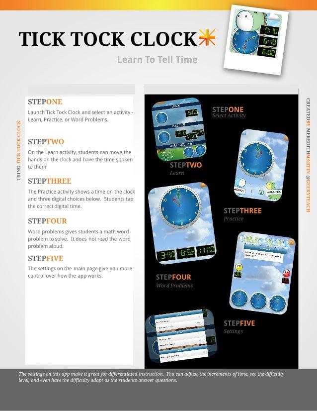 Tick Tock Clock App Tutorial