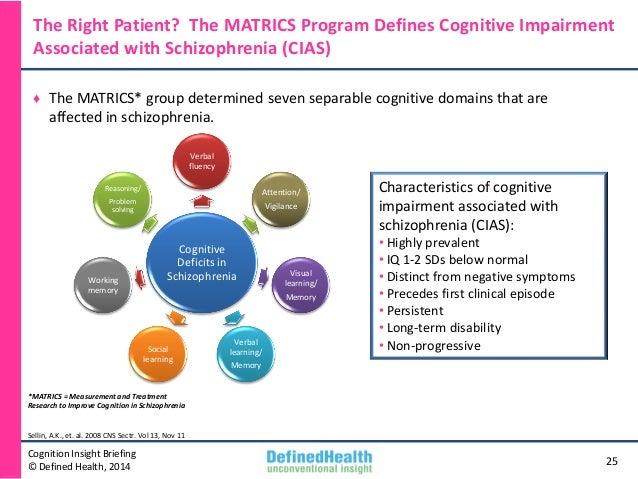 cognitive impairment in schizophrenia pdf
