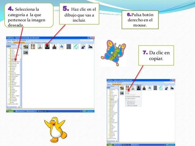 9. Para cambiar el tamaño, haz clic sobre la imagen y arrastra cualesquiera de los punto, hasta donde lo desee. 10. Verás ...
