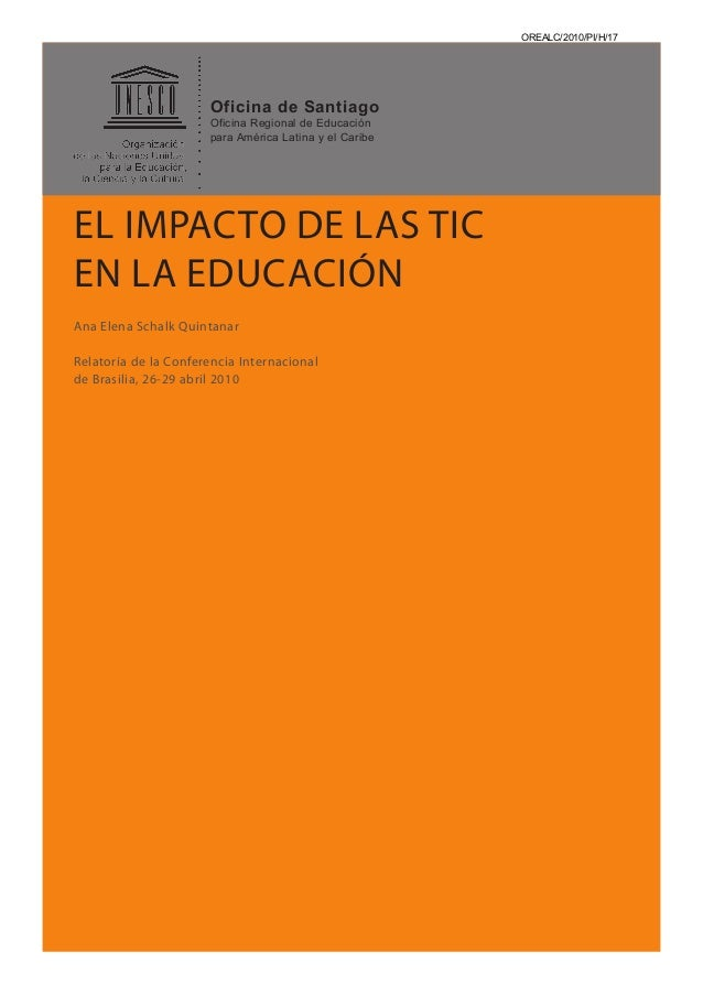 OREALC/2010/PI/H/17                      Oficina de Santiago                      Oficina Regional de Educación           ...
