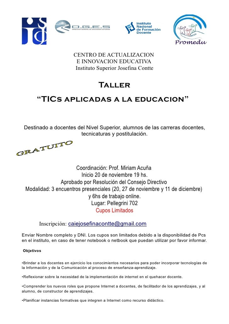 CENTRO DE ACTUALIZACION                               E INNOVACION EDUCATIVA                               Instituto Super...