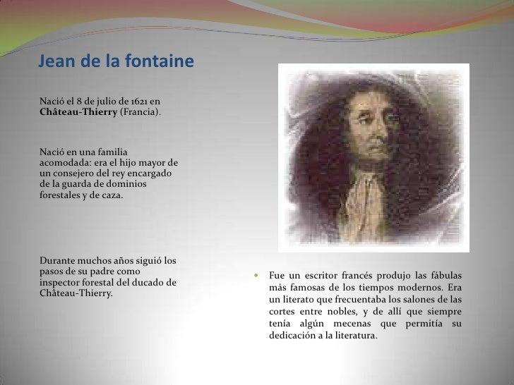 Jean De La Fontaine Por Jorge Garcia Macias
