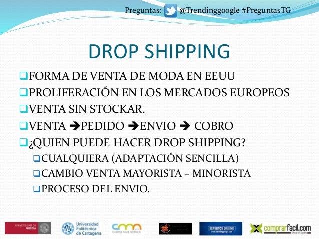 DROP SHIPPING FORMA DE VENTA DE MODA EN EEUU PROLIFERACIÓN EN LOS MERCADOS EUROPEOS VENTA SIN STOCKAR. VENTA PEDIDO ...