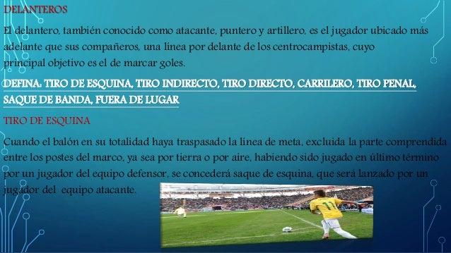 Tics monografia futbol for Cuando es fuera de lugar futbol