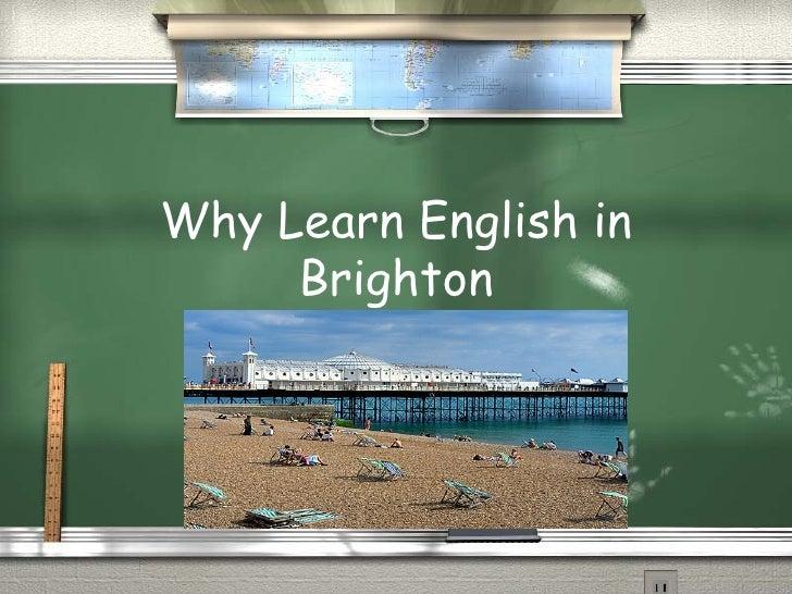 Why Learn English in Brighton