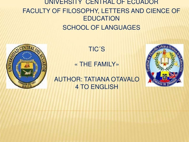 UNIVERSITY CENTRAL OF ECUADORFACULTY OF FILOSOPHY, LETTERS AND CIENCE OF                 EDUCATION           SCHOOL OF LAN...