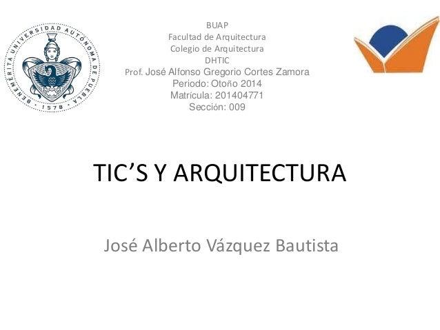 Tic S Y Arquitectura