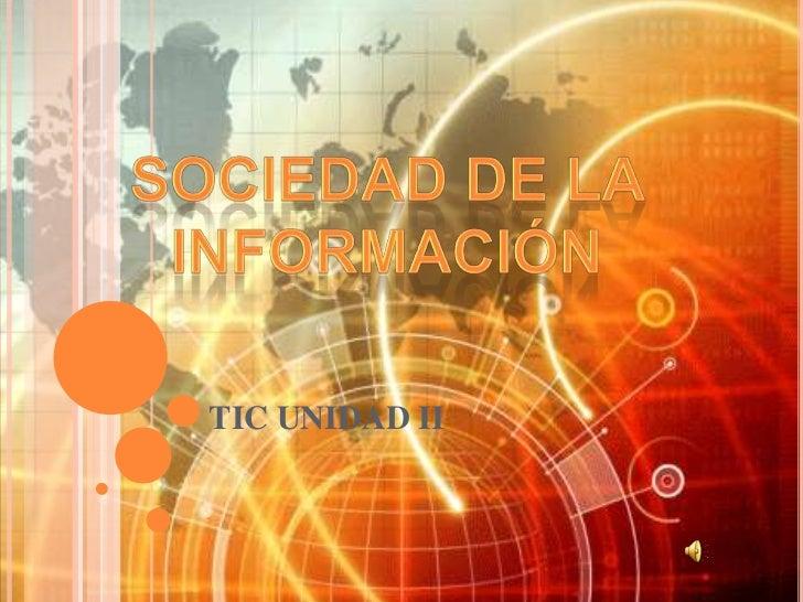 TIC UNIDAD II
