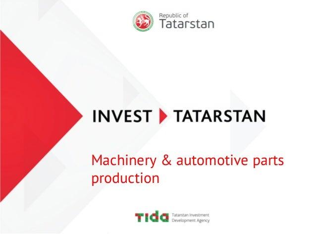 Machinery & automotive parts production