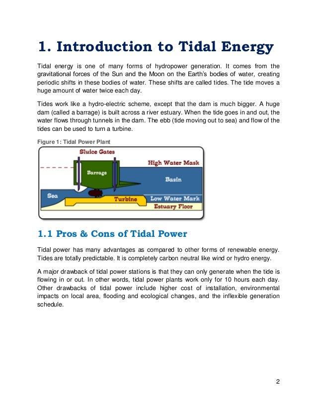tidal energy power plant pdf