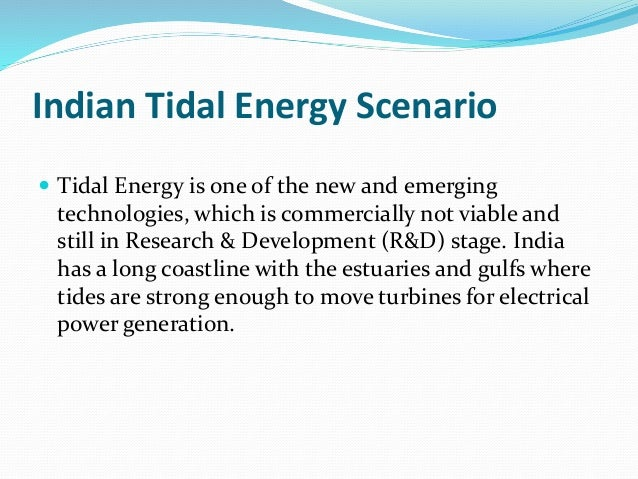 an analysis of tidal energy An analysis of ocean energy in australia july 2012 ocean renewable energy:   31 intermittency of tidal and non-tidal currents, waves and wind energy.