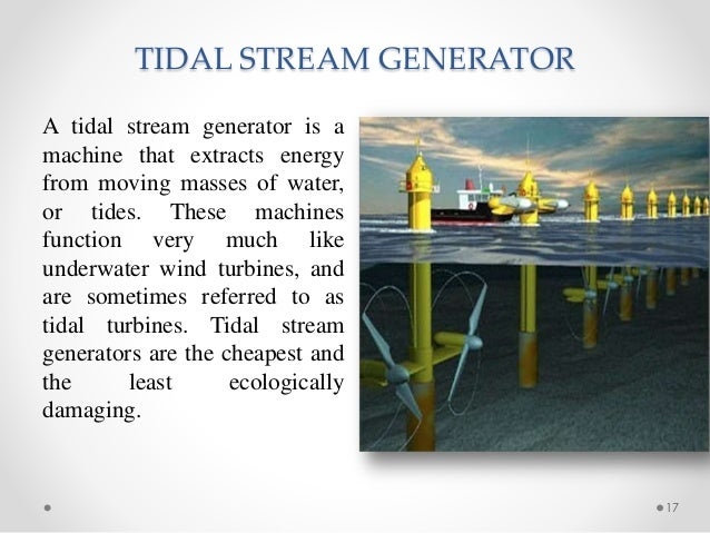 Tidalpower And Its Future Scope