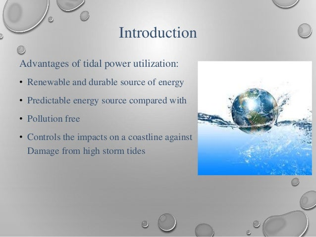 Tidal Power: A Case Study - YouTube